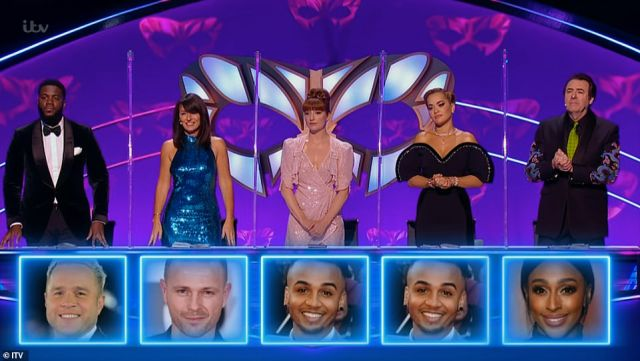 Guesses: Prior to Aston's unveiling, judges Jonathan, Mo, Davina and Rita all guessed who the contestant could be, they were joined by 2020 winner Nicola Roberts