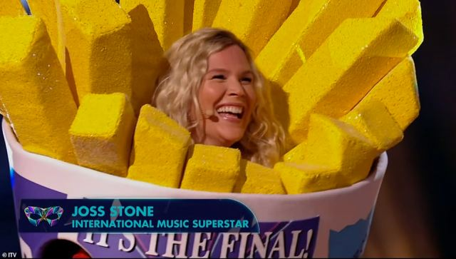 Crowned the wiener! Joss Stone was revealed as Sausage after she was crowned the winner of The Masked Singer UK final on Saturday night
