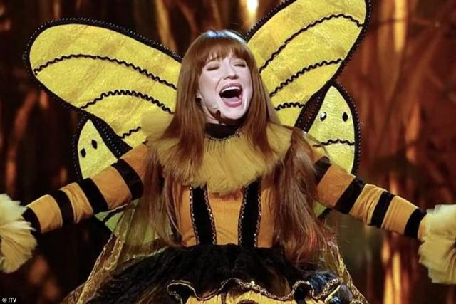 2020 winner! Nicola was revealed as Queen Bee, after she was crowned the winner of The Masked Singer UK in 2020 (pictured)