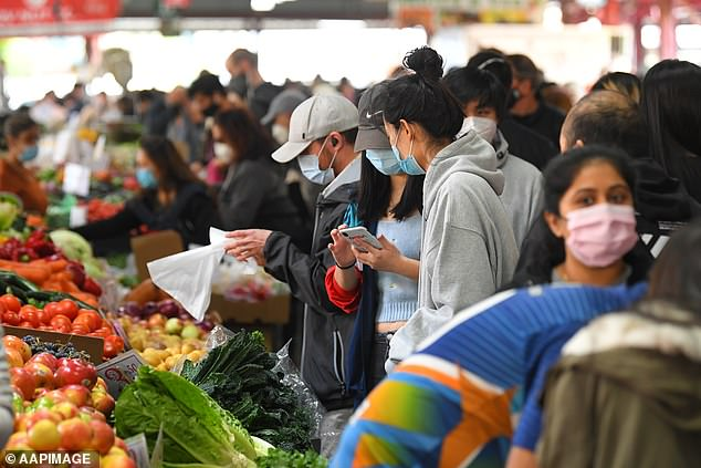 Melbourne's popular Queen Victoria Market fruit and vegetable section has been named as a new exposure spot on Thursday February 11 from 8.25am to 10.10am along with the women's toilets in section two