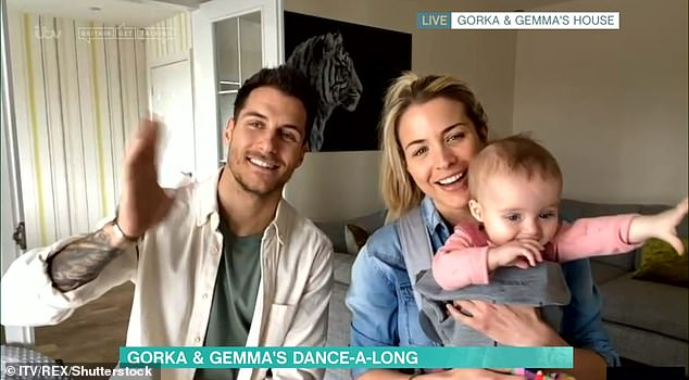 Home is where the heart is: The couple are parents to daughter Mia, 20 months