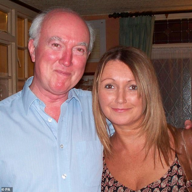 Peter Lawrence (left with daughter Claudia)made regular appeals for information to keep the case of his daughter, a chef, in the public eye