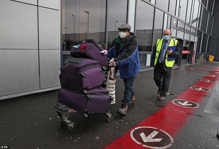 Travellers flying directly into Scotland on international flights have to self-isolate for 10 days in a quarantine hotel room, under new regulations taking effect this morning