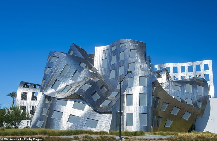 The $70million (£50million) Lou Ruvo Center for Brain Health in Las Vegas opened in 2010. As well as medical facilities, it houses the Museum of the Mind