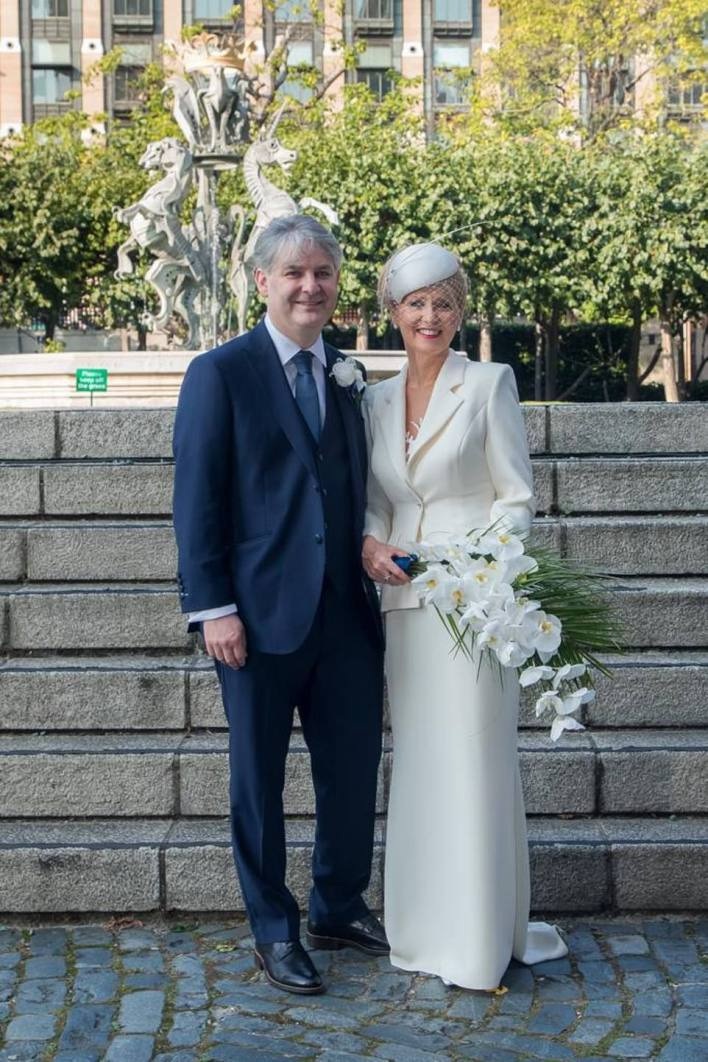 Philip Davies and Esther McVey, who got married last September, are among 13 Tory MPs who have backed the What About Weddings campaign