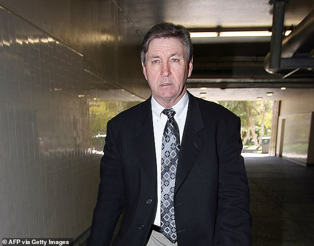 Alli Sims, who worked as Britney's paid assistant in 2007, told NBC News: 'He [Jaime] 100 per cent was threatening me with my life.' Sims said she 'didn't put it past him' so she didn't answer any of Britney's calls after that alleged conversation. Britney's father, Jaime Spears, is pictured