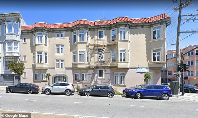 Woitel's apartment building is located on Guerrero Street in the Mission District (pictured)