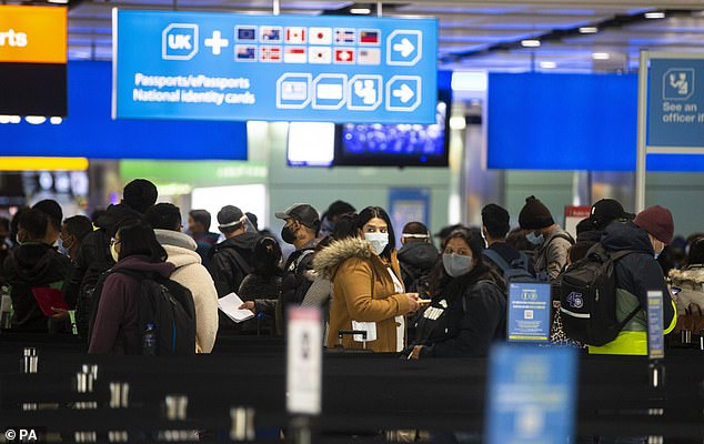 Thousands of passengers who tried to beat the Government's hotel quarantine regime experienced massive delays at Border Check in the West London airport last week