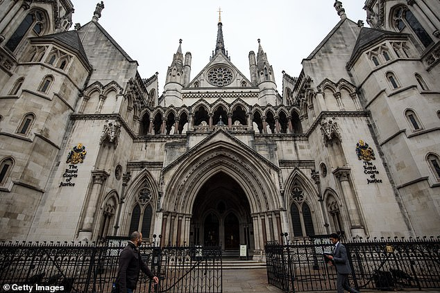The Good Law Project has begun a High Court fight with the Cabinet Office. Pictured: Royal Courts of Justice, London