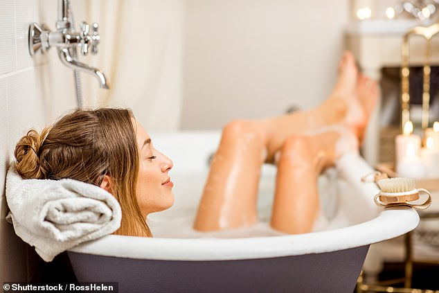 Hot baths work faster than exercise in treating depression, according to research from Freiburg University, Germany [File photo]
