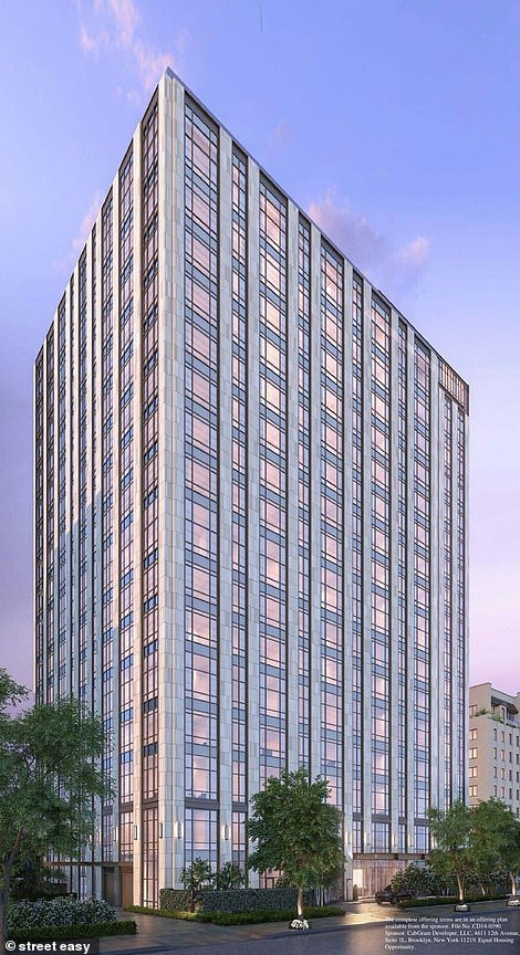 Pictured: The exterior of The Tower at Gramercy Park
