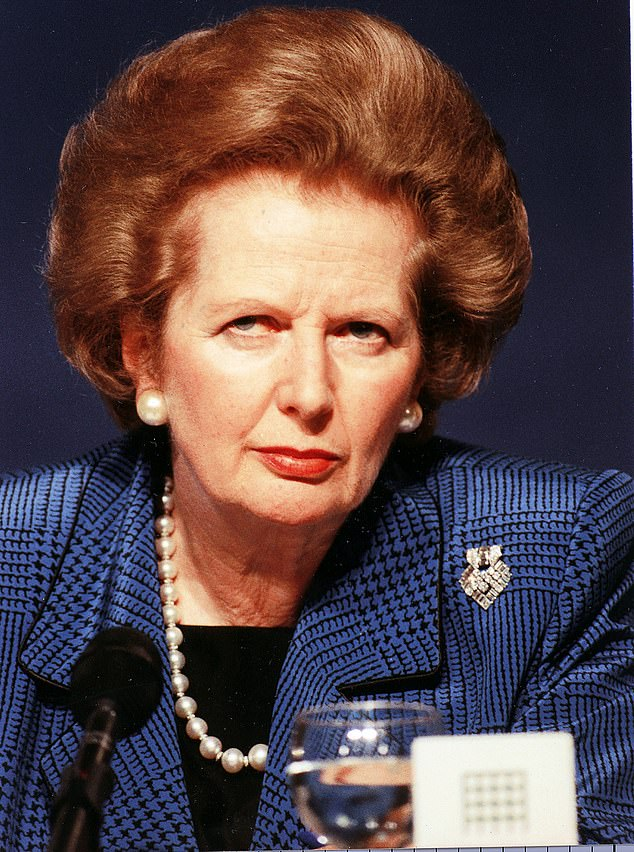 Friends of Margaret Thatcher (pictured), who studied chemistry at the then women-only college in the 1940s, said unconscious bias training flew in the face of her libertarian beliefs