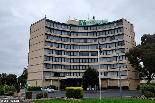 Some 18 people linked to the Melbourne Airport Holiday Inn have tested positive for Covid-19