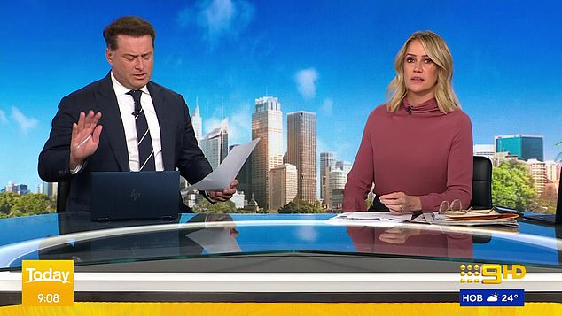 Today host Karl Stefanvoic questioned the government's response to the alleged sexual assault following the prime minister's speech on Tuesday