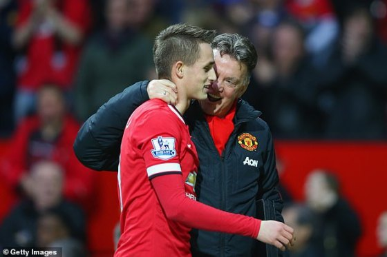 Januzaj fought under the leadership of Van Gaal, who publicly criticized his work ethic in training