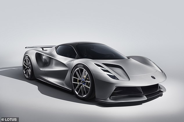 The new two-seater electric Lotus Evija hypercar is due to be unveiled in production form this year and develops a massive 2,000 horsepower