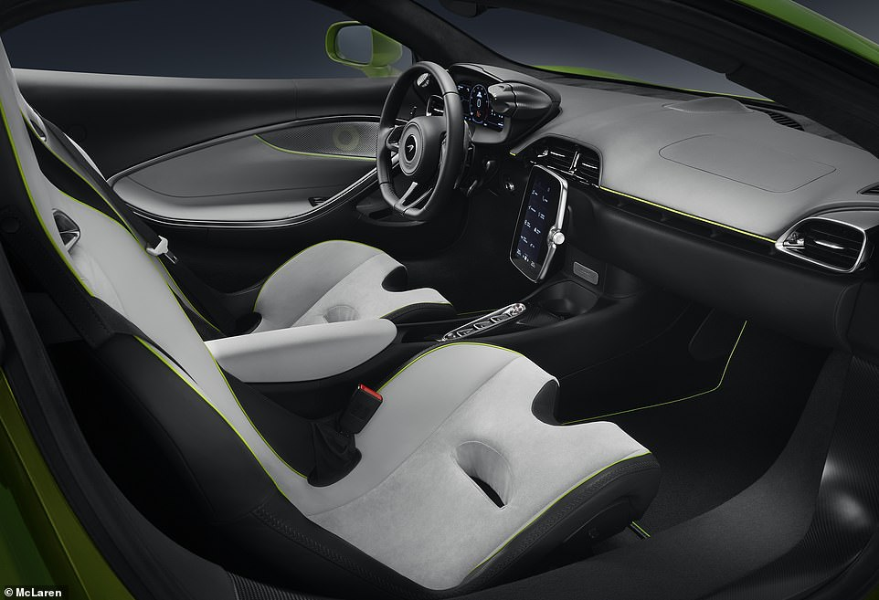 The Artura marks the debut of a new Clubsport seat for added cossetting comfort for even the tallest of drivers