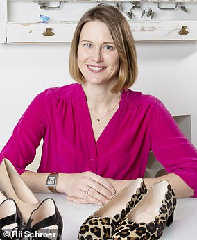Katie Owen feared the pandemic was goping to destroy her luxury shoe firm