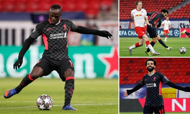RB Leipzig 0-2 Liverpool - Mohamed Salah and Sadio Mane score in Champions League win | Daily Mail Online