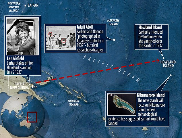 The mystery of her disappearance has produced a number of theories ¿ from crashing to landing becoming castaways on an island outside of Howland to being taken as hostages by the Japanese. However, none have been confirmed, which has led Penn State to search for more clues