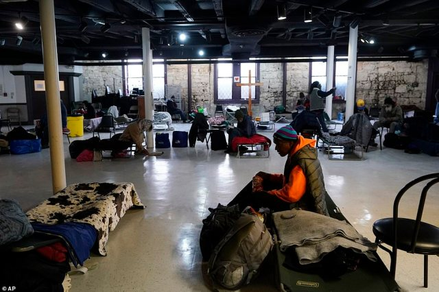 San Antonio, Texas: The state opened 35 shelters to more than 1,000 occupants. More than 500 people sought comfort at one shelter in Houston. Mayor Sylvester Turner said other warming centers had to be shut down because they lost power