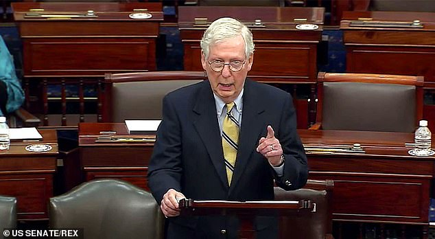 McConnell argued in floor remarks after acquitting Trump, that Congress didn't have the jurisdiction to go after a former president