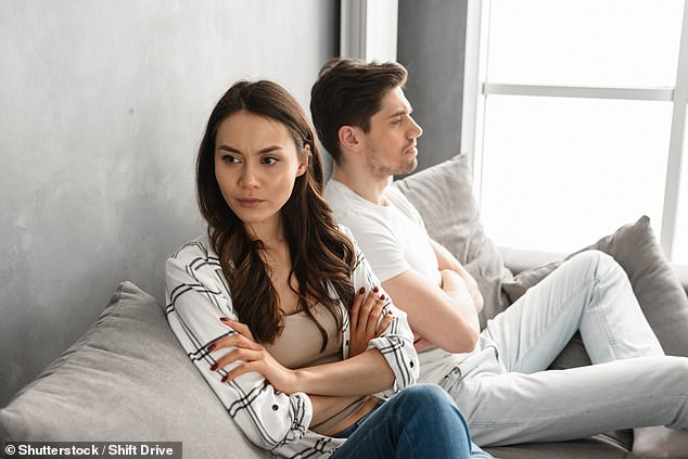 Breaking up: Unmarried couples who buy a home together and then split can find themselves in a tricky situation if one person wishes to remain in the property