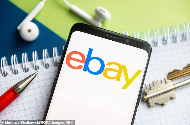 Raising suspicions: The buyer didn't use a real name on their eBay and PayPal accounts