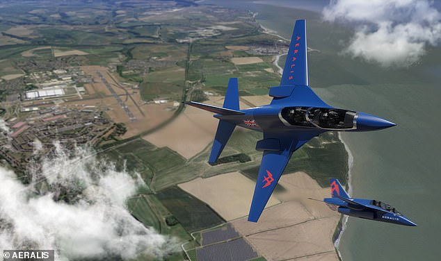 Suffolk based Aeralis was given £200,000 by the RAF to develop its 'modular' two -seater aircraft that will come in one of three variants depending on requirements