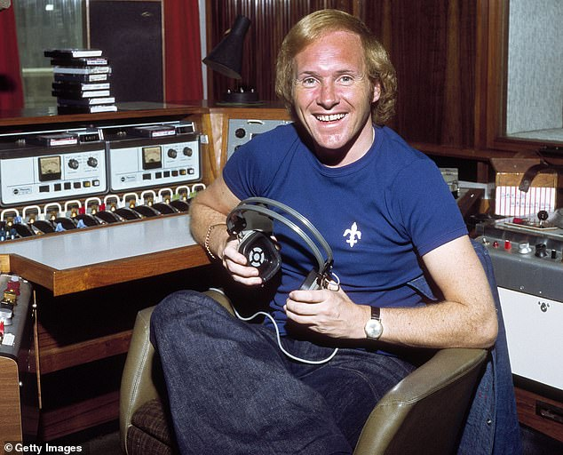 ¿Diddy¿ David Hamilton was among one of the first radio disc jockeys at Radio 1 opening in 1967