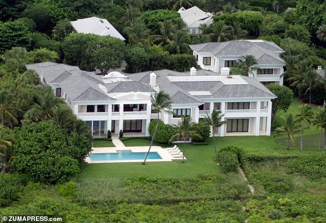 The $51million Palm Beach property where Rush Limbaugh lived since 2010