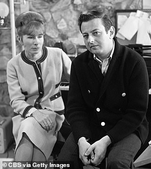 Miamoved in with Andre Previn and his wife Dory (pictured together) then got pregnant with Previn's twins. He soon divorced his singer-songwriter wife, devastating her so much that she was institutionalized