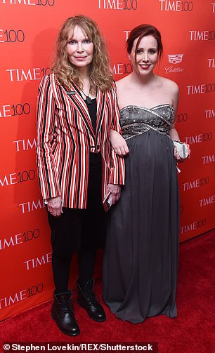 Mia, 76, who split from Allen first accused the Oscar-winning director of molesting their adoptive daughter as a child in 1992, which he has strongly denied. (Mia with Dylan in 2016)