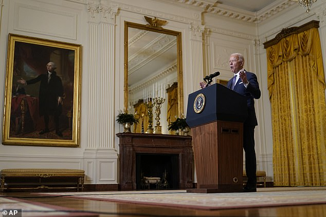 President Joe Biden made a forceful denunciation of China and Russia in remarks to the Munich Security Conference on Friday