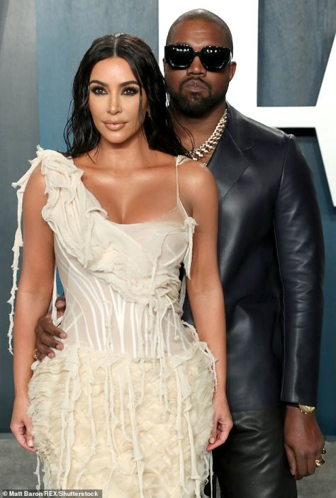 Done: Kim Kardashian has reportedly filed for divorce from her husband Kanye West. The 40-year-old TV star filed documents on Friday, according to TMZ , through her lawyer Laura Wasser but the date of separation was not listed; seen in 2020
