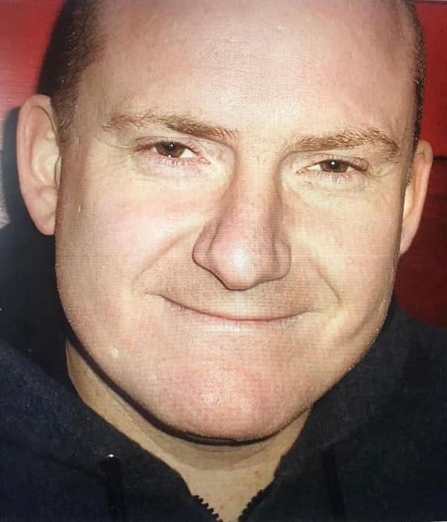 Specialist financial investigator Detective Sergeant Darren Barker (pictured), 51, died after being admitted to hospital in late January