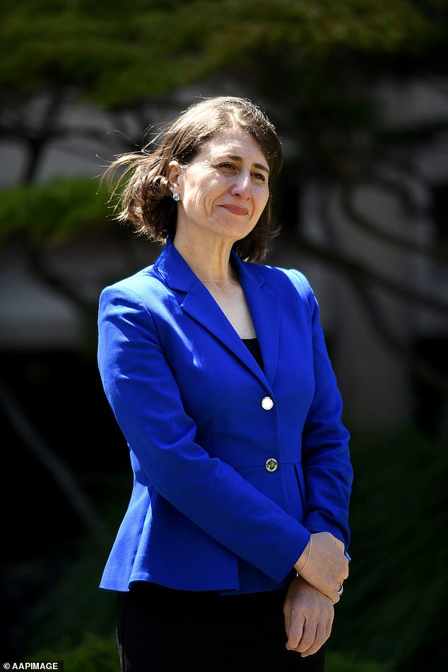 During the hearing in October, Ms Berejiklian admitted to a string of intimate details about their relationship and revealed that she loved Mr Maguire
