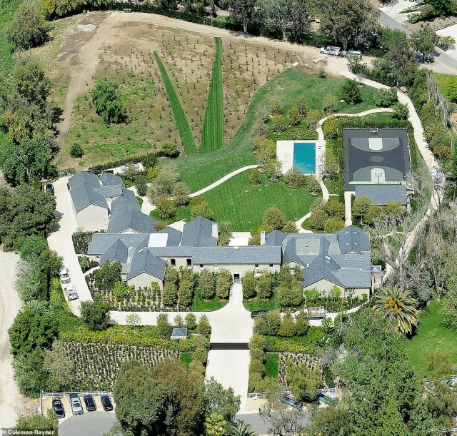 So much space:And it was added that the stars are in the advanced stages of sorting their property agreement. Their main house is a $60M mansion in Hidden Hills