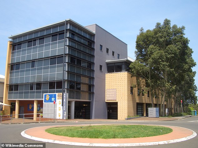 The second child was airlifted to The Children's Hospital at Westmead (pictured) in a serious condition