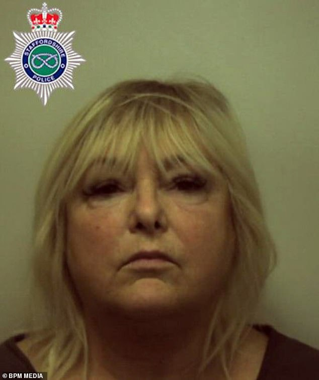 Jean Adshead (pictured), 57, took payments from a man who was trying to buy the Alma pub in Newcastle but then pocketed the money for herself