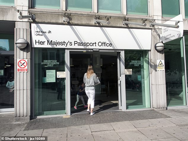 The Passport Office (pictured) said it did not know how many people had changed sex on their documents