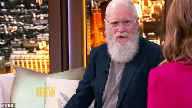 Seen recently onThe Drew Barrymore Show: The snippet is only the most recent from David Letterman's late night tenure which is receiving blowback