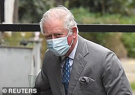 Pictured: Prince Charles arrives at King Edward VII's Hospital
