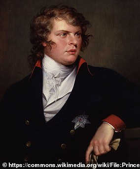 Prince Augustus Frederick (pictured) was the sixth son and ninth child of King George III