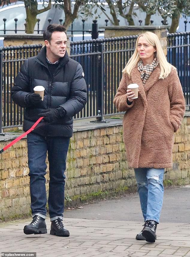 Betrothed:Ant recently shared details - or lack thereof - of his upcoming wedding to Anne-Marie