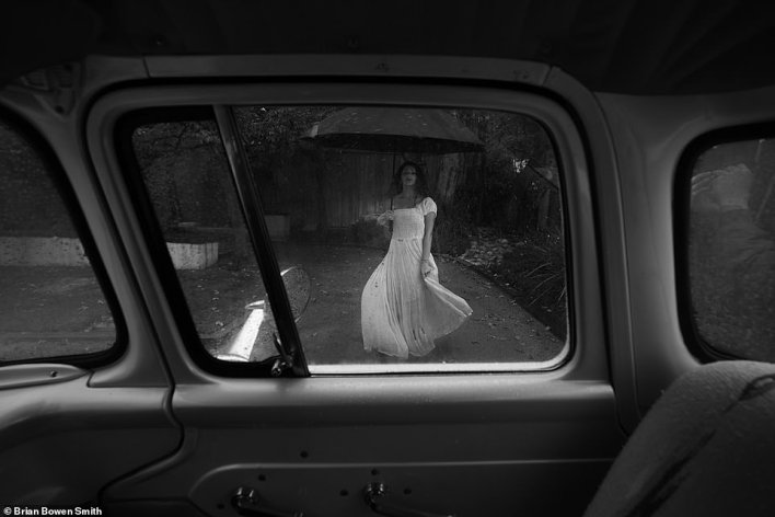 'This is my family friend Tea. I planned a shoot with her via Zoom at the beginning of the pandemic and rolled over in my Ford F100. This photo - taken through the window of my truck - inspired me to take the whole road trip and create the book' - BBS