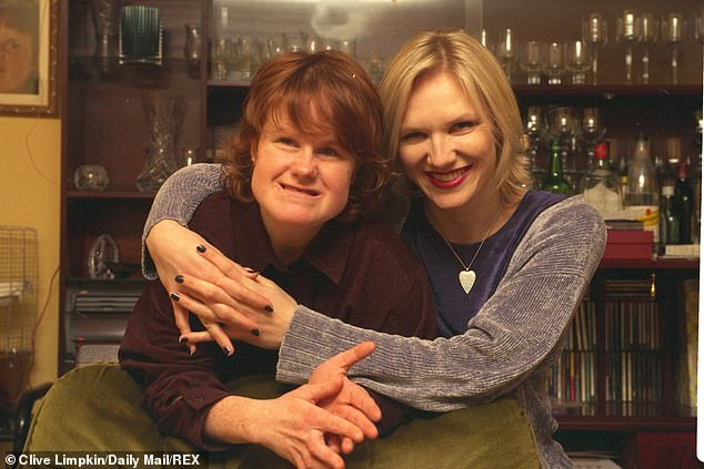 It comes after Jo Whiley revealed she was offered the vaccine before her sister Frances (both pictured), who has a learning disability and diabetes and is now battling Covid in hospital