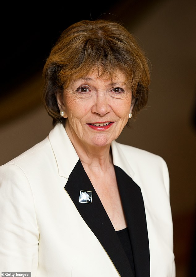 That national treasure Joan Bakewell (pictured), the 87-year-old broadcaster and Labour peer, instructed solicitors to start proceedings against the Government