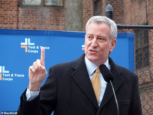 But de Blasio bowed to pressure and chose to keep the NYC staple open for the season