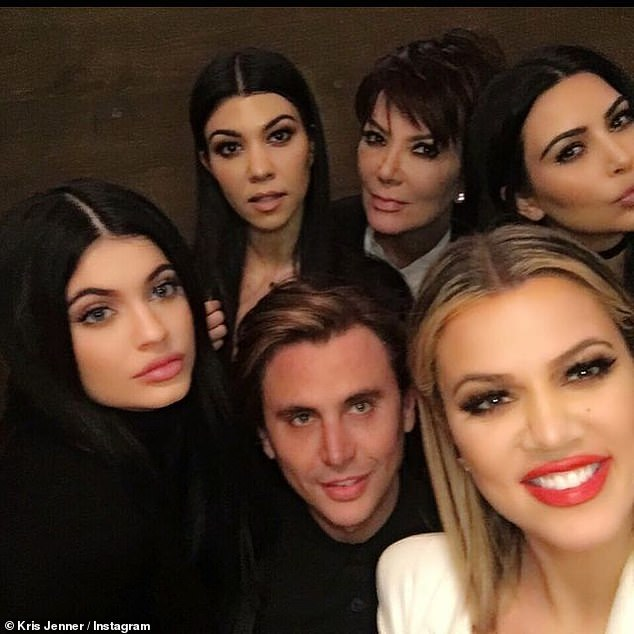 Reguar guest: Cheban has been seen on Keeping Up With The Kardashians through the years